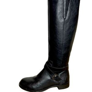 Kenneth Cole Reaction Tall Black Riding Boots